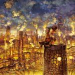えんとつの町のプペル 光る絵本展 ゴールデンボーイジム